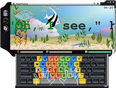 tutorial typing online learn how to type and play free typing games free online