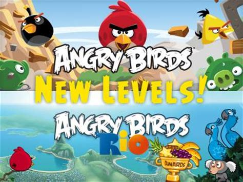 angry birds rio receives updates for an upcoming movie rio 2
