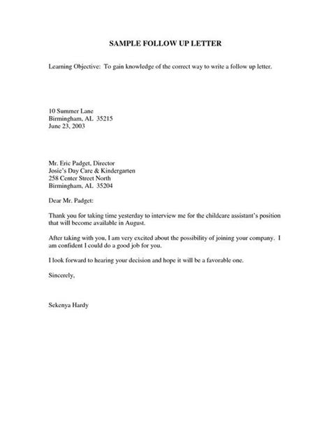 thank you letter after questions sle follow up email after
