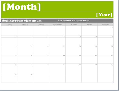 Word Template Calendar ms word calendar templates montly calendar