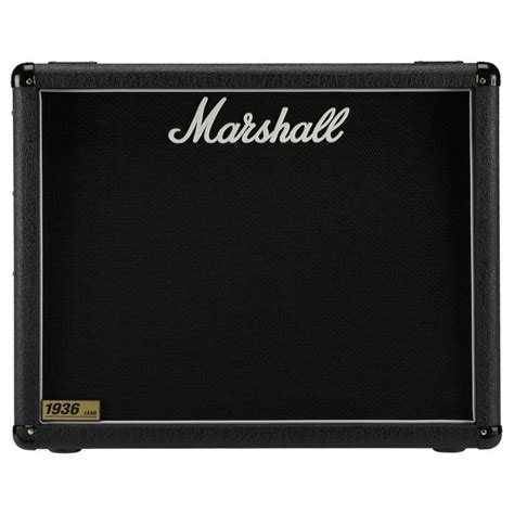 marshall 1936 2x12 cabinet marshall 1936 2x12 quot guitar speaker cab at gear4music com