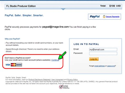 Search Pay With Paypal Why Do I Get Forwarded To Paypal For Amex Payments