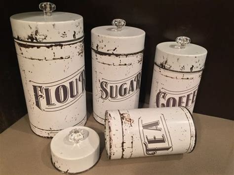 kitchen flour canisters 25 best ideas about tea coffee sugar canisters on
