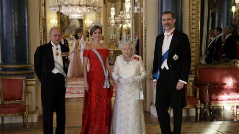 cena de gala de las la cena de gala de los reyes en el palacio de buckingham