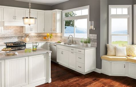 Shenandoah Kitchen Cabinets by Cottage White Cabinets Transitional Kitchen Dc Metro