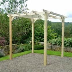 Pergola Kits Uk by M Amp M 6 X 6 Coppice Wooden Garden Pergola Kit Internet