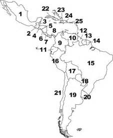 map of central and south america quiz countries and capitals of central and south america quiz