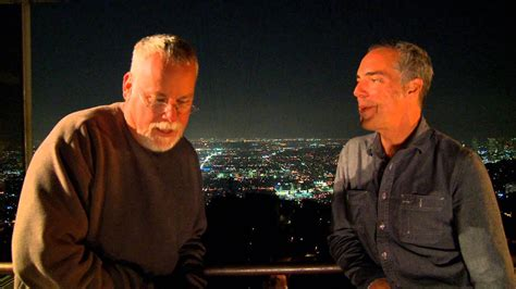 titus welliver house michael connelly and titus welliver on the set of quot bosch