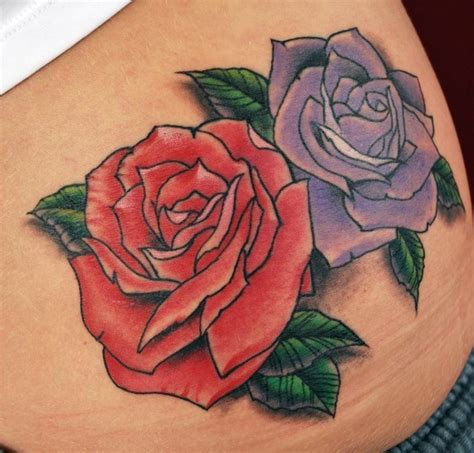 Bed Of Roses Meaning 40 Roses Tattoos Inkdoneright Com
