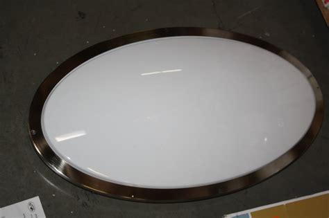 oval ceiling light fixture hton bay ceiling flush mount oval fluorescent light
