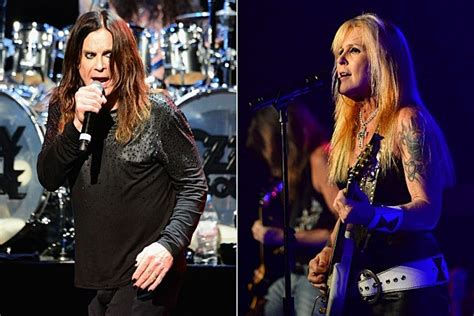 lita ford with ozzy osbourne ozzy osbourne recalls his hit with lita ford
