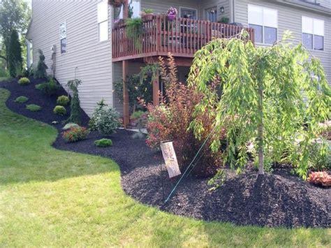 landscaping hill backyard landscaping designs backyard