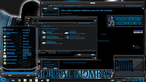 themes zero theme sub zero for windows pga themes