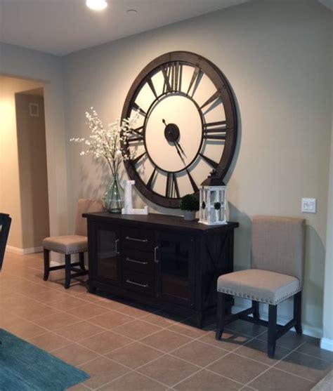 rowan  wall clock wall clocks living room dining
