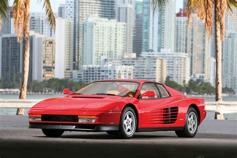 ferrari testarossa low mileage ferrari testarossa is a nice throwback to the