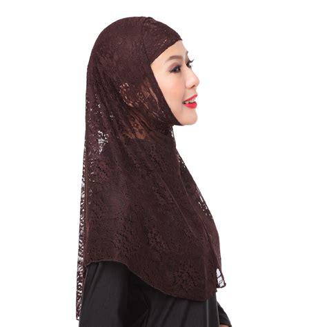 Zuleema 3 In 1 Muslim Set Pashmina Gaun Luaran Cape High Quali lace muslim cover inner cap islamic scarf 2pcs set ebay
