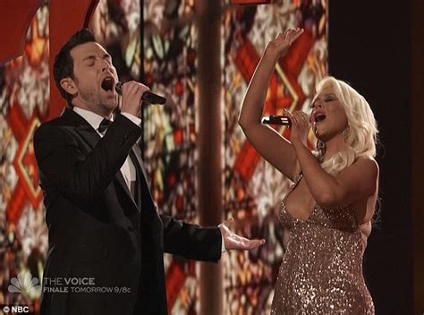 the voice soars with unilever sponsorship adweek christina aguilera soars on the voice in duet with chris mann