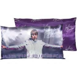 justin bieber concert pillow 12 x 20 pillow polyester