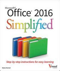 office 2016 simplified 1st edition | rent 9781119074748