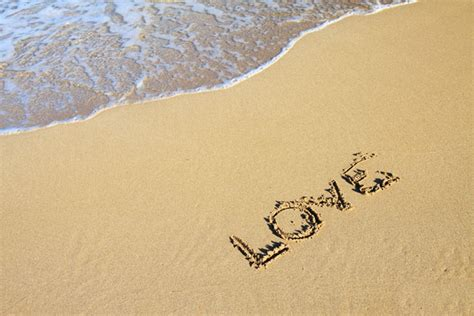 images of love written sand love written on the beach learning from lorelle