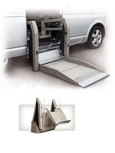 pedane per disabili per auto pedane elettroidrauliche in alluminio per vetture
