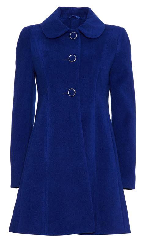 womens wool swing coat anastasia 60 s pop womens winter wool swing coat ebay