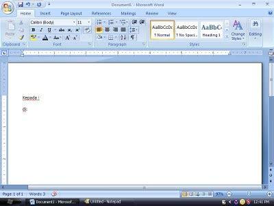 membuat mail merge ms word 2007 membuat mail merge di ms word 2007 kkpi smk gondang