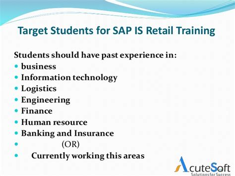 sap retail tutorial sap is retail course overview free demo