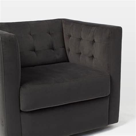 west elm rochester swivel chair rochester swivel armchair west elm