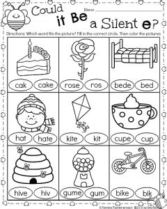 cvce pattern activities 1st grade math and literacy worksheets for february