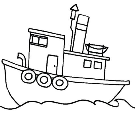 Coloring Pages Of Fishing Boats by Ferry Boat Drawing At Getdrawings Free For Personal
