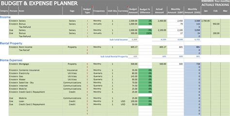 excel templates for expenses excel personal expense tracker 7 templates for