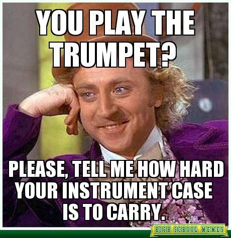 Big Ego Meme - trumpets music lover memes