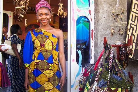 dominican republic current fashion drc artisans merchants turn distinctive traditional cloth