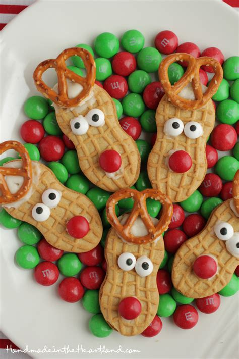 easy christmas food crafts nutter butter reindeers nutter butter reindeer cookies and simple
