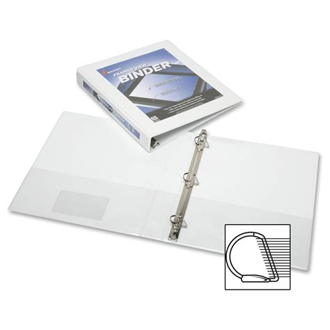 I Ring Stand Hp I Ring Loggo Samsung 1 frame view binders white 1 1 2 quot ld products