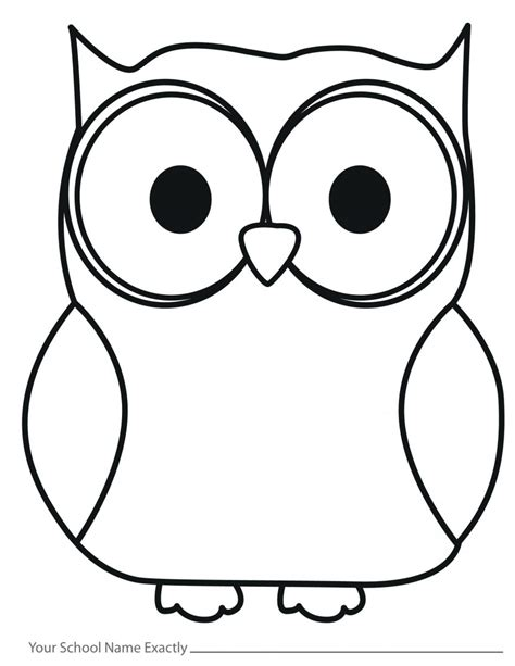 printable outline of an owl outline of an owl 2659