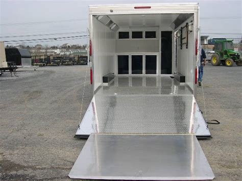 Enclosed Trailer Awning For Sale by Carmate 8 5x20 Enclosed Car Trailer 7k Black Silver