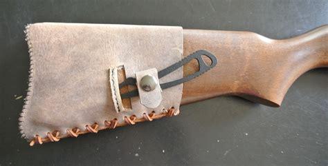 Handmade Leather Cuffs - handmade leather buttstock cuffs on behance