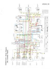 kawasaki kz440 wiring diagram 1980 1982 motorcycle photo