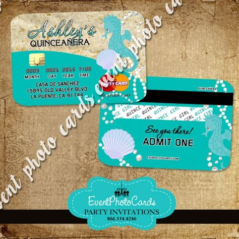 beach themed quinceanera invitations 17 best images about seashell under the sea party ideas on