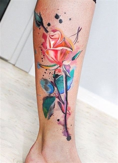 watercolor tattoo la best 25 watercolor tattoos ideas on