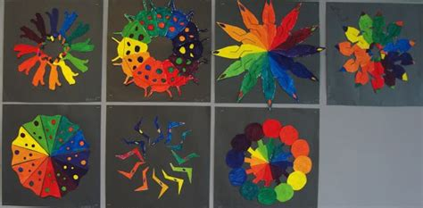 creative color wheel a color wheel activity for
