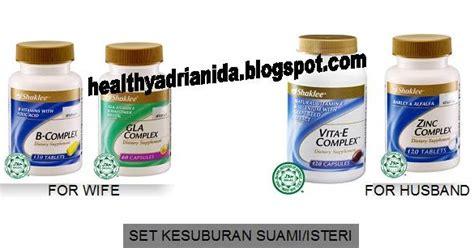 Keluarga Sihat Bersama Vitamin keluarga sihat bersama vitamin hebat set kesuburan shaklee