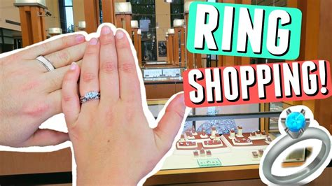 Engagement Ring Shopping by Wedding Ring Shopping Vlog My Engagement Ring Choosing