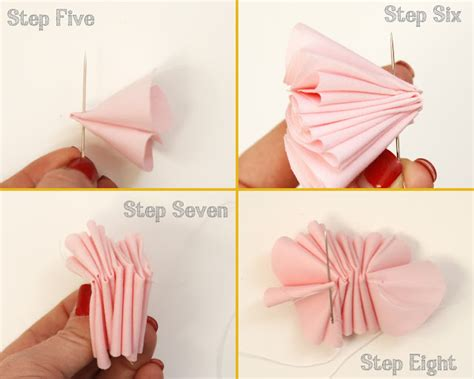 Handmade Fabric Flowers Tutorial - paiges of style diy fabric flower cupcake topper