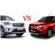Hyundai Creta Vs Maruti Vitara Brezza Which One Is Better