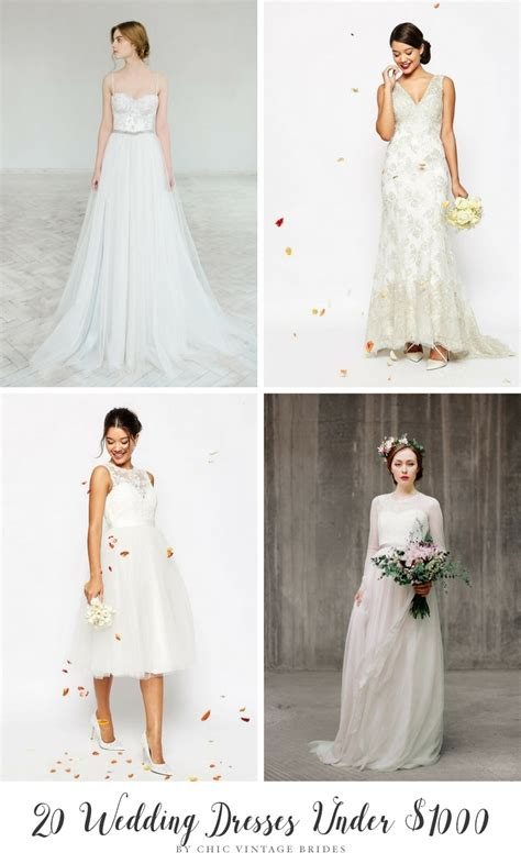 wedding budget 1000 20 beautiful wedding dresses 1000 that look