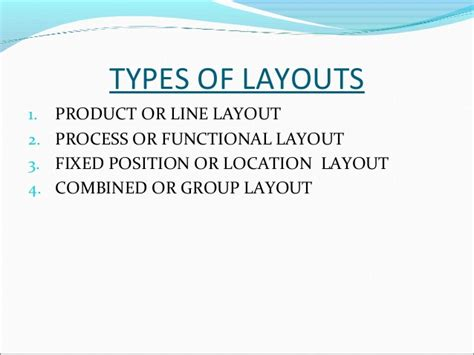 plant layout powerpoint presentation plant layout ppt by me