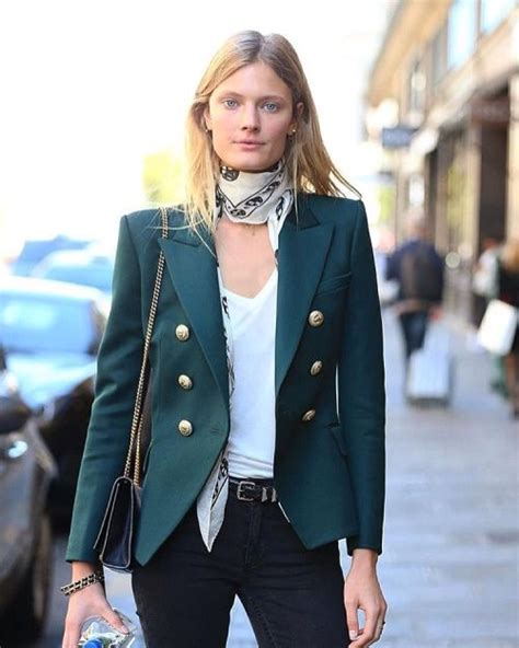 jade blazers and suits on